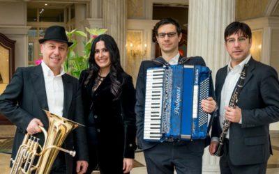 Canti ebraici e dei Balcani dall'antichità ad oggi, dal Medioriente all'Occidente.