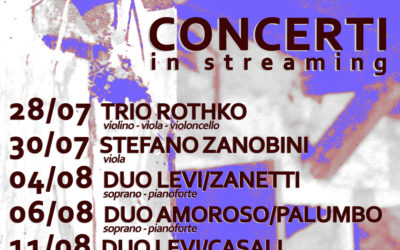 concerti in streaming